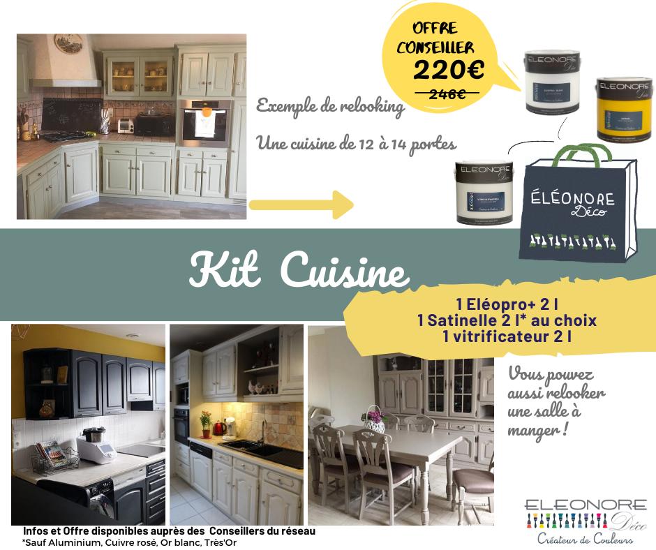 kit relooking cuisine sous-couche, peinture et protection