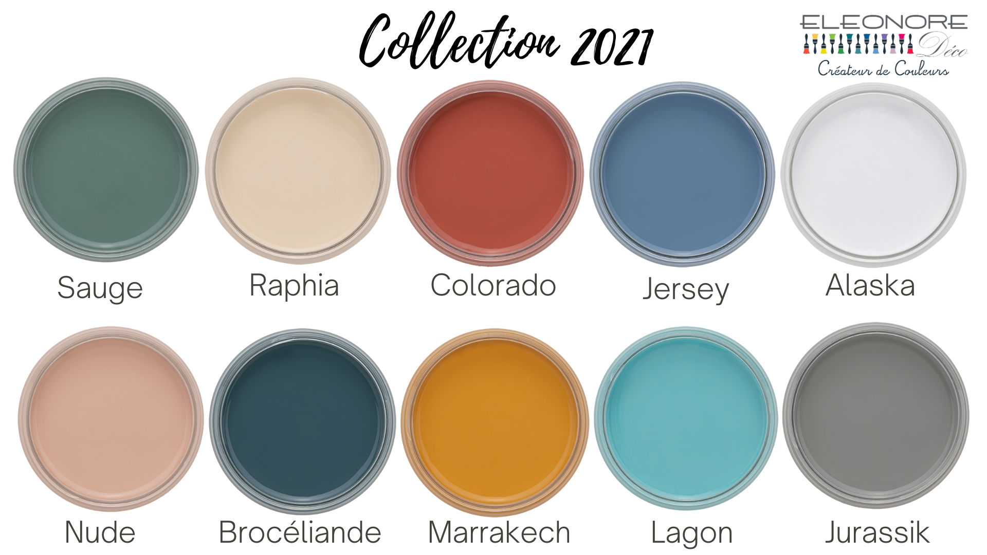 Collections couleurs 2021